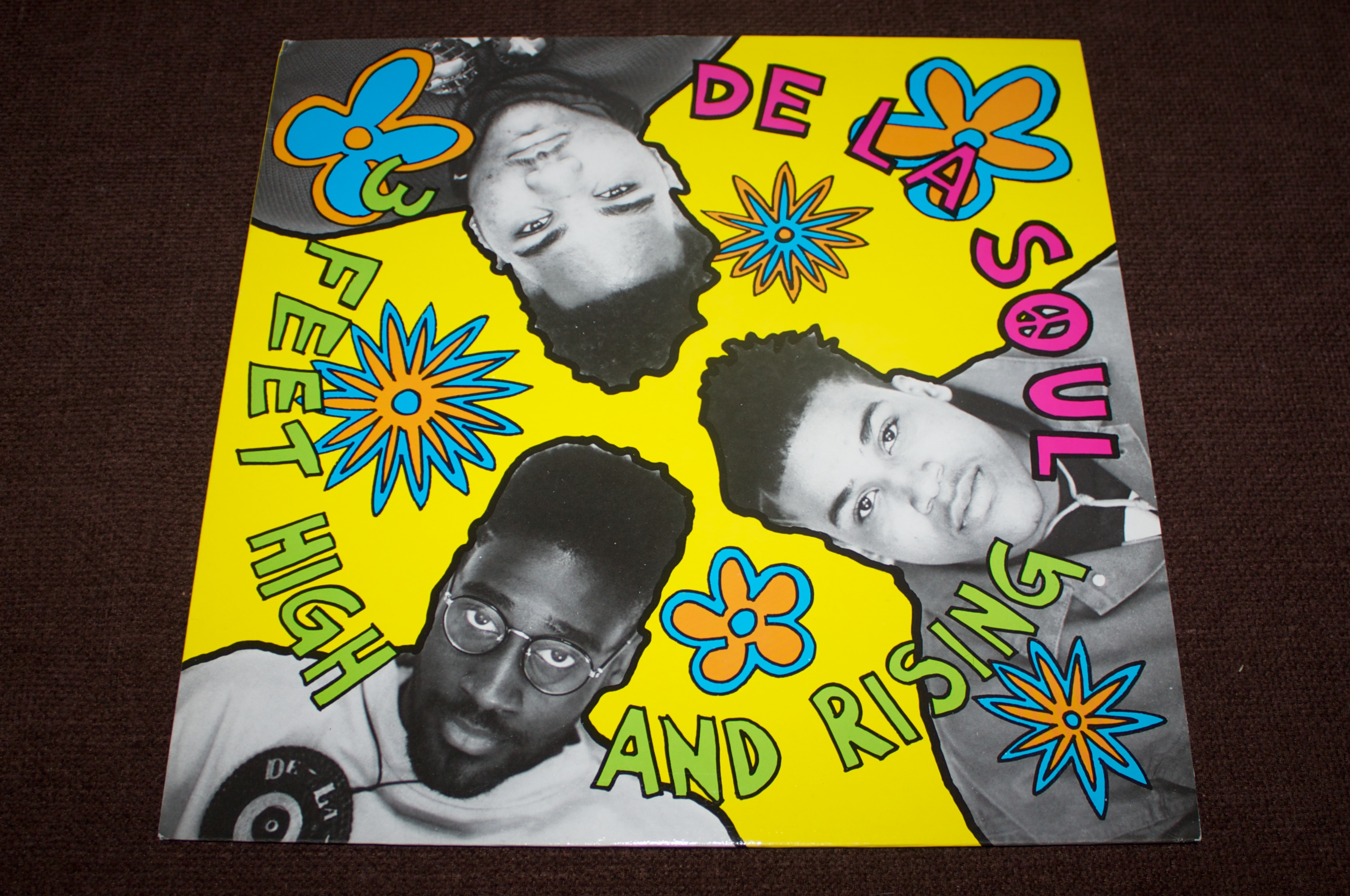 Astral nymphets  3 Feet High and Rising is the debut album from the American trio De La  Soul, which was released in 1989. The album marked the first of three  full-length ...